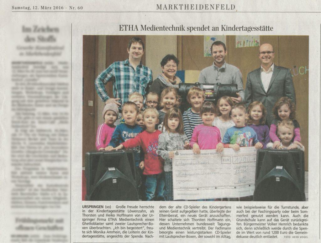 ETHA-Spende-Kindergarten-Urspringen-2016
