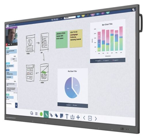 CLEVERTOUCH UX PRO INTERAKTIVER 4k TOUCHSCREEN